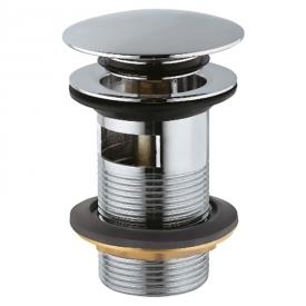 Донный клапан для раковины Click-Clack с переливом