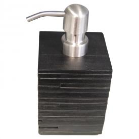 Дозатор Brick для жидкого мыла, черный