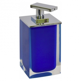 Дозатор Colours для жидкого мыла синий