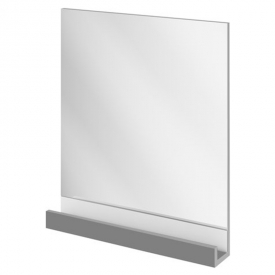 Зеркало 10° 650, серый глянец