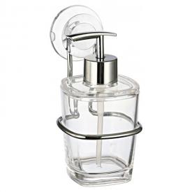 Дозатор Eco для жидкого мыла с деражателем, прозрачный